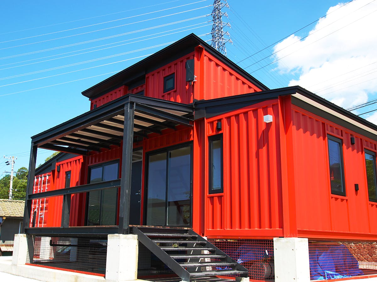 containerhouse red
