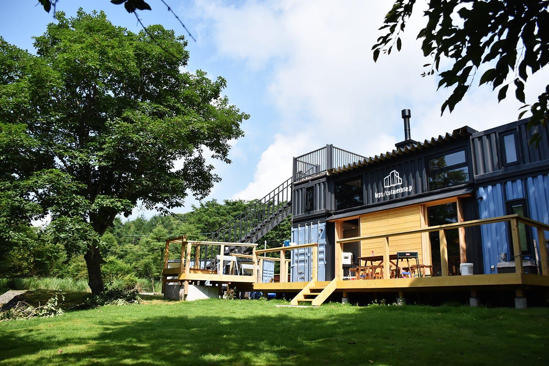 containerhouse yamanakako